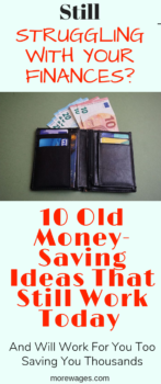 10 Old Money Saving Ideas[That Still Work Today] and will save you thousands that you can use for other useful items
