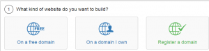 Build a new websitefree