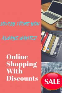 Online Shopping With Discounts