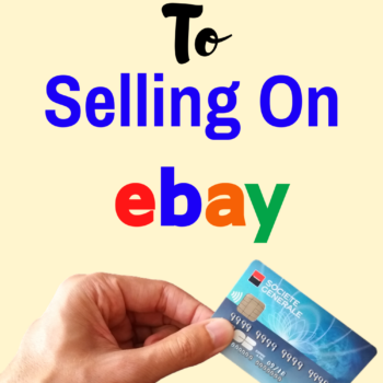 A Beginners Guide to selling on eBay