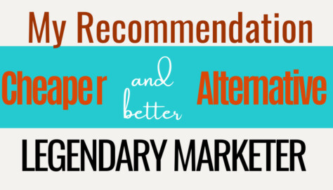 A banner for legendary marketer alternative