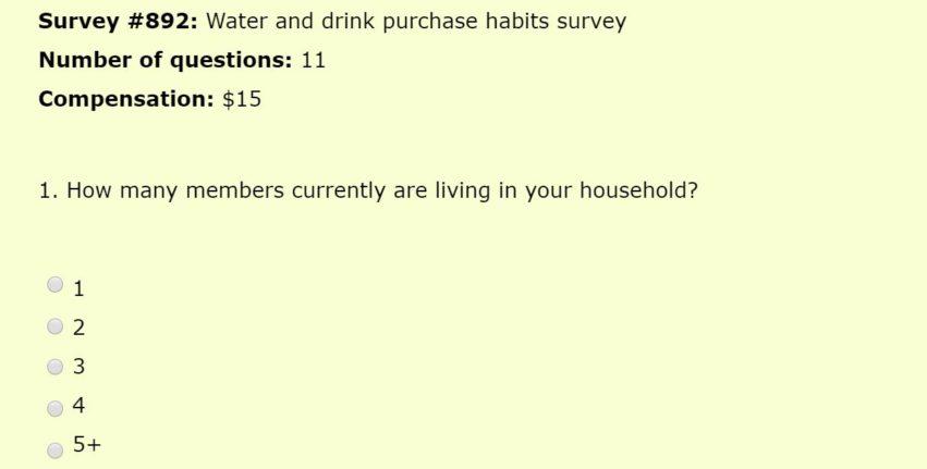 Click 4 survey survey example