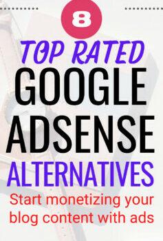 Google AdSense Alternatives to Monetize your Website
