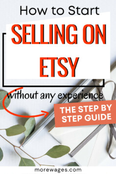 learn how to start selling on Etsy, a platform got crafts, art and hand made products