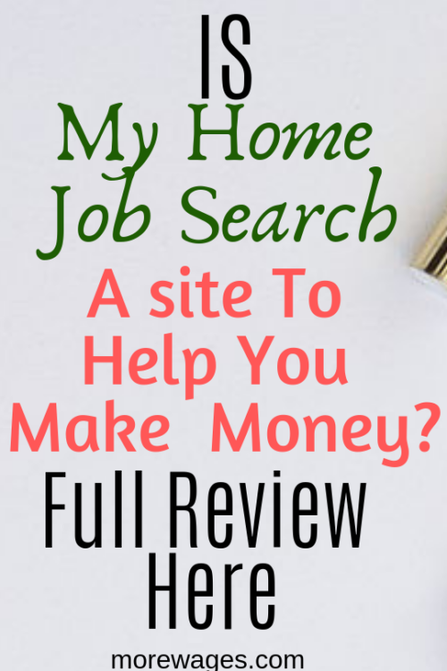 My Home Job Search Review
