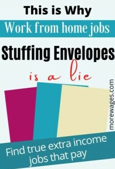 Work From Home Stuffing Envelopes are mostly scams,these jobs once existed but not any more,people nolonger send letters, they send emails.