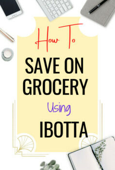 Ibotta App, how it works, and how to save on grocery with the Ibotta app.