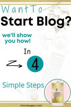 Starting A Blog For Beginners