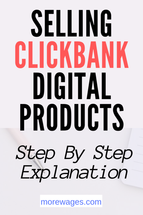 How to sell clickBank digital products