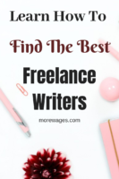How To Find A Freelance Writer