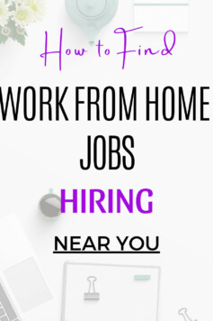 the steps I follow to find work from home jobs near me and you can do the same successfully for your local area.