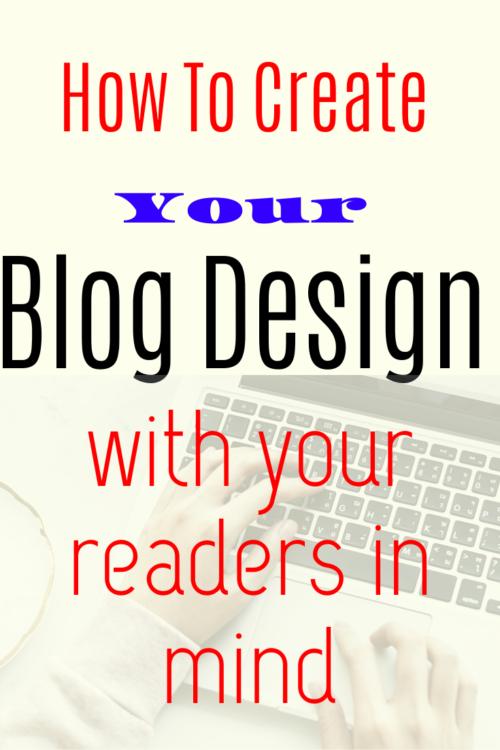blog design layout
