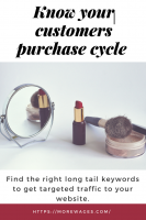 finding long tail keyword to help you make better sales