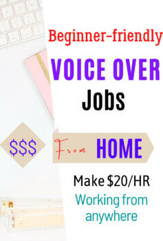 Voice over jobs for beginners from home.If you have  an attractive voice also check for  voice acting jobs that you can start without any qualifications