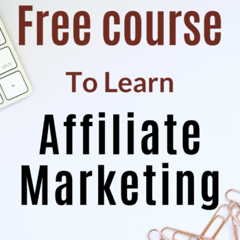 Free course to learn affiliate marketing