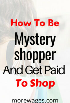 Secret shopper jobs you can do to earn extra income