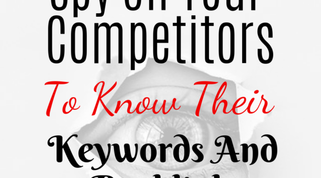 How To Find Competitors Keywords by using Semrush or other keyword tools that will show you keywords that are easy to rank for giving you the chance to beat them in the search engine.