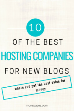 Best hosting companies for new blogs that give you value for money and have the best uptime for your website