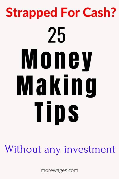 How To Earn Extra Money From Home