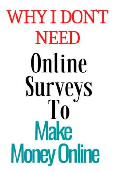 The Earn Money Online Surveys Mystery