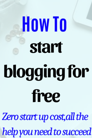 How to get started blogging and making money online