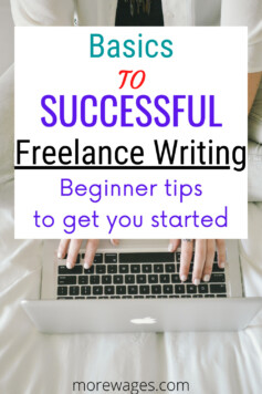 freelance writing tips for beginners and mistakes to avoid for those with no experience and just getting started in freelancing to make extra income.