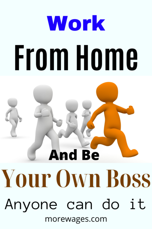Work From Home Online And Be Your Own Boss