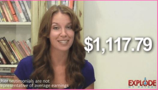 A Fiverr actress showing unreal explode my payday earnings