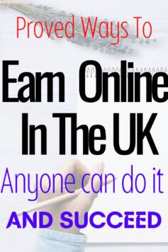 HOW TO EARN MONEY ONLINE IN THE UK