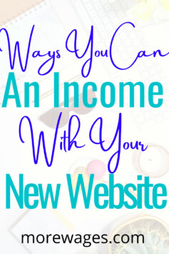 Learn how to make money with a website even if you`re new to blogging