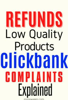 Clickbank scam complaints explained