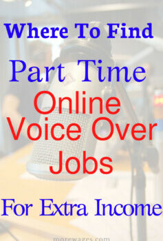 Voice over jobs for extra income