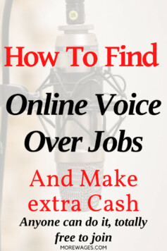 Voice over jobs you can do online to earn extra cash