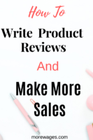 Reviews is that they help your readers make decision if a product is worth buying or not and it answers their questions in detail why a product is recommemded or not, this will help you build trust and increase your sales as people will first read product reviews before they make a purchase.The Importance Of Product Reviews