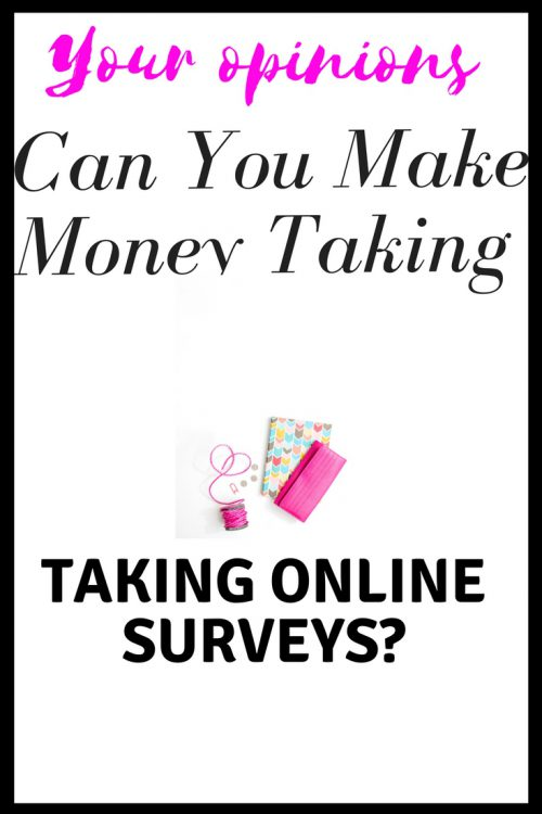 Can you make money taking online surveys?