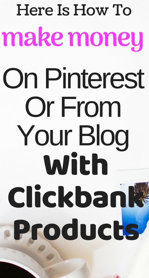 Make money at clickbank affiliate marketplace
