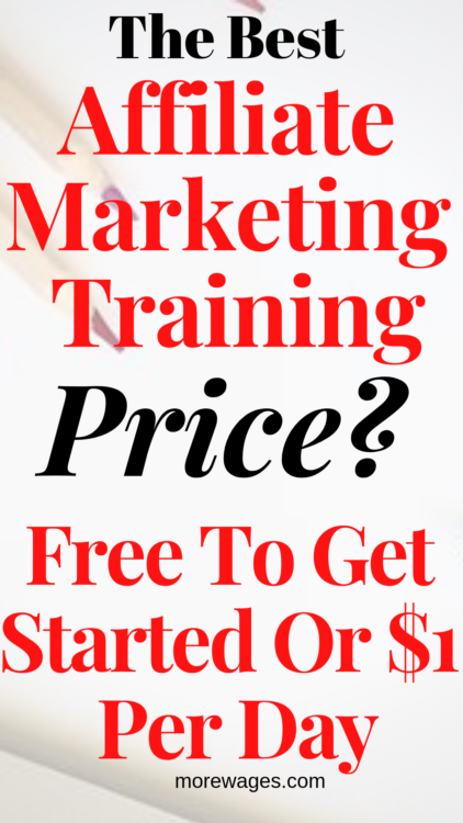 How To Start An Online Business For Free using this top training, best of all it cost just $1 a day or you can stay a free member where you also get training and two websites.